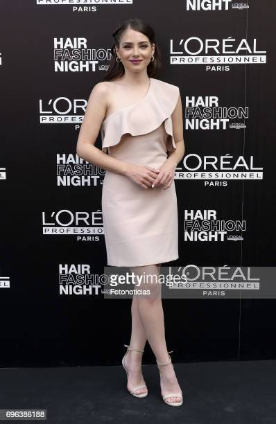 Andrea Duro attends the Hair Fashion Night photocall at Callao cinema on June 15 2017 in Madrid Spain