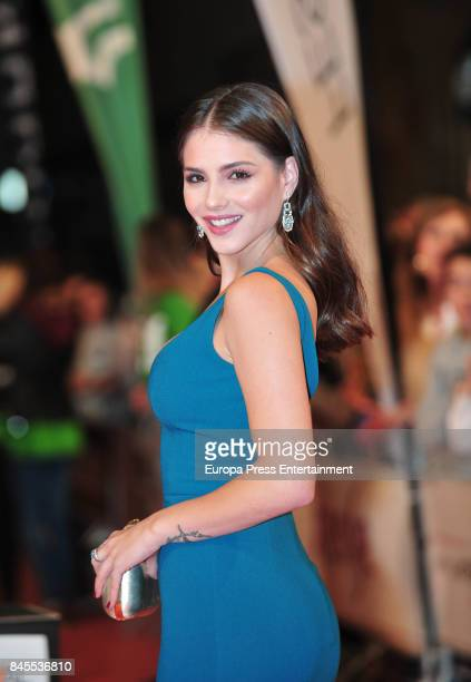Andrea Duro attends the 'La Catedral del Mar' premiere during the FesTVal 2017 on September 8 2017 in VitoriaGasteiz Spain