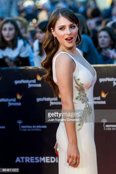 Andrea Duro attends the red carpet of the Gala Inaguration during the 20th Malaga Spanish Film Festival at the Cervantes Theater on March 17 2017 in...