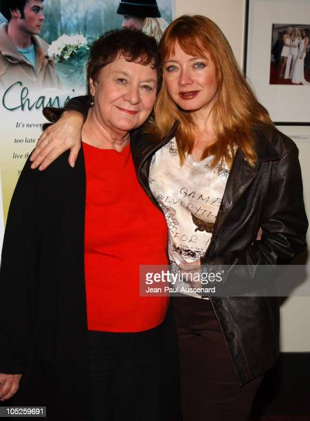 Andrea Evans and mother Audrey during 'Changing Hearts' Premiere at ArchLight Cinemas in Hollywood California United States
