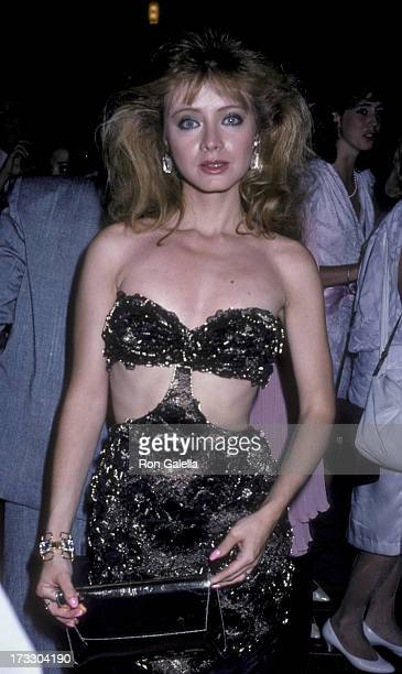 Andrea Evans attends 13th Annual Daytime Emmy Awards on July 17 1986 at the Waldorf Hotel in New York City