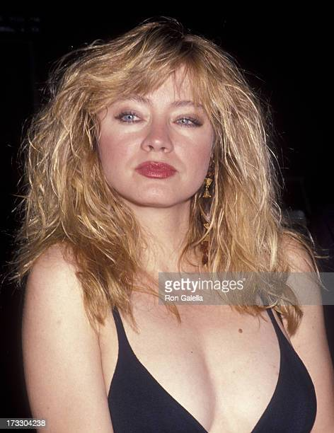Andrea Evans attends Growing Greener Cities Benefit on April 20 1992 at North Restaurant in Beverly Hills California