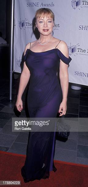 Andrea Evans attends Shine Awards on October 26 1999 at the Skirball Cultural Center in Los Angeles California