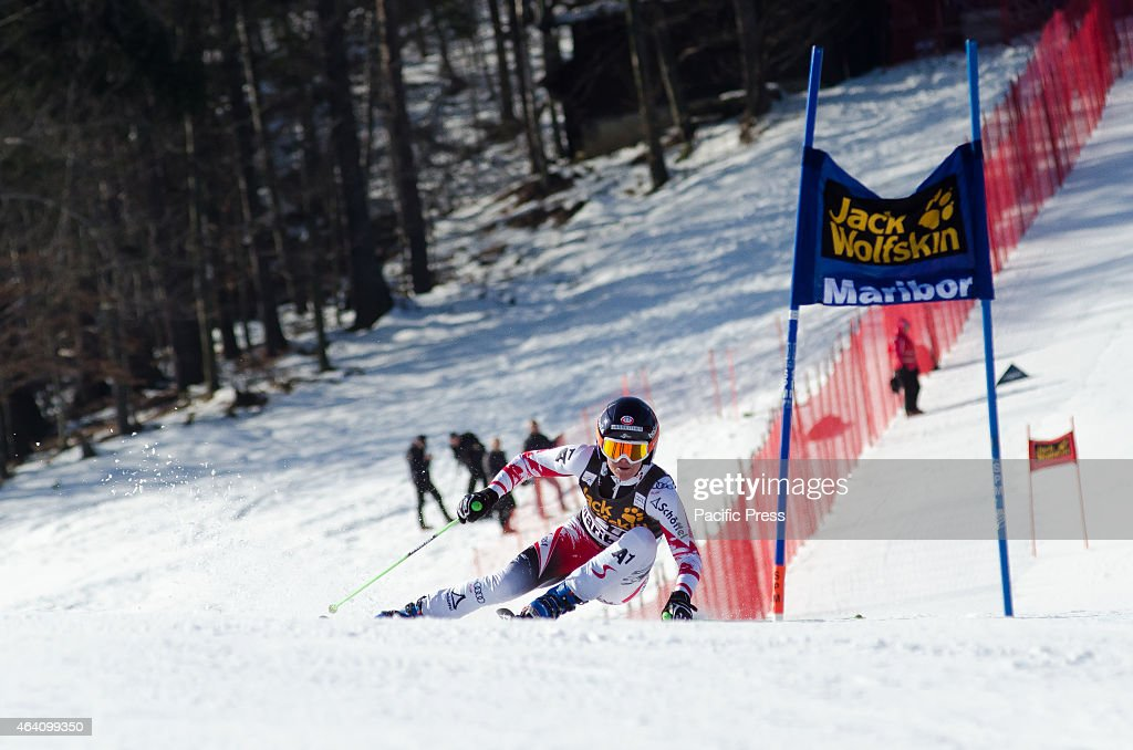 <a gi-track='captionPersonalityLinkClicked' href=/galleries/search?phrase=Andrea+Fischbacher&family=editorial&specificpeople=800274 ng-click='$event.stopPropagation()'>Andrea Fischbacher</a> (AUT) on the course during Giant Slalom race at 51st Golden fox in Maribor.