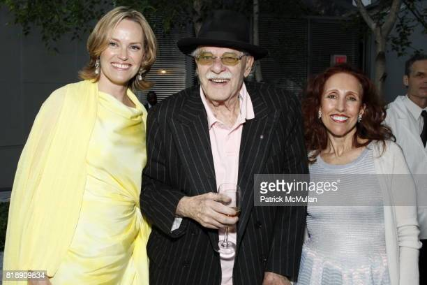 Andrea Glimcher John Chamberlain and Prudence Fairweather attend MoMAís Annual Party In The Garden at Museum of Modern Art on May 25 2010 in New York...