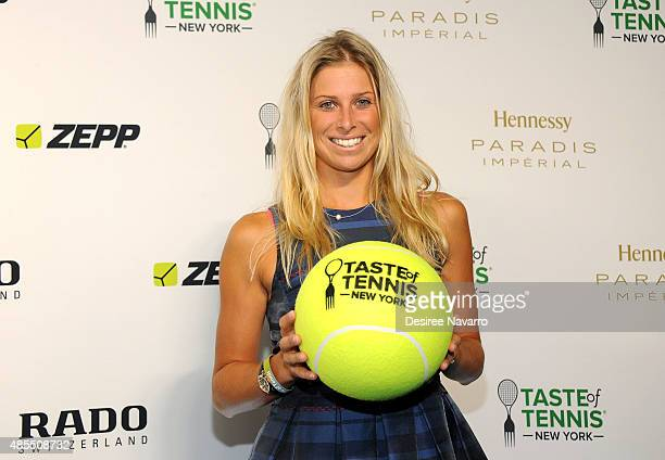 Andrea Hlavackova attends 2015 Taste of Tennis New York at W New York Hotel on August 27 2015 in New York City