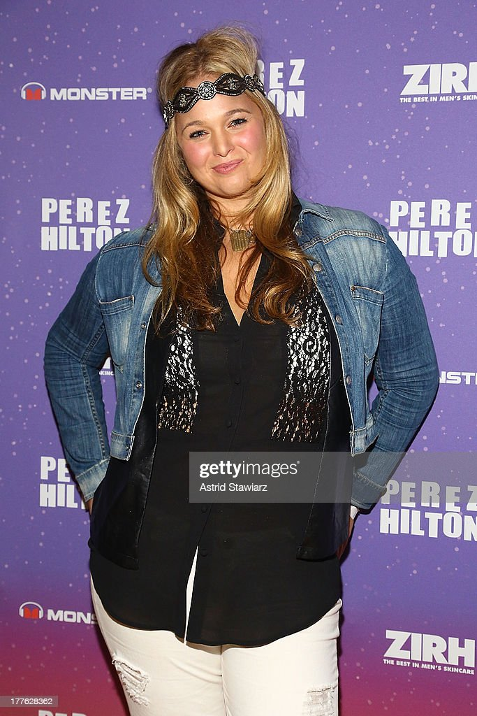 Andrea Horblitt attends Perez Hilton's One Night In Brooklyn at Music Hall of Williamsburg on August 24, 2013 in New York City.