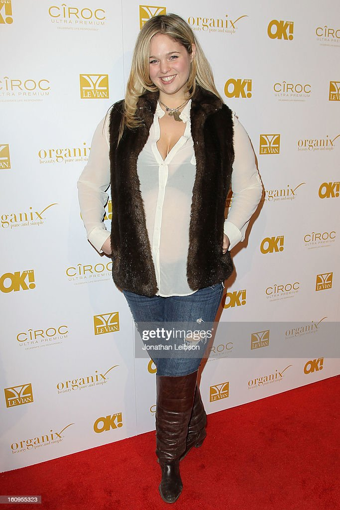 Andrea Horblitt attends the OK! Magazine Pre-GRAMMY Party at Sound on February 7, 2013 in Hollywood, California.