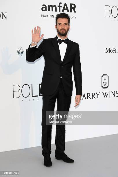 Andrea Iervolino arrives at the amfAR Gala Cannes 2017 at Hotel du CapEdenRoc on May 25 2017 in Cap d'Antibes France