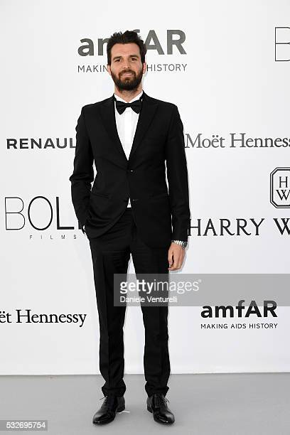 Andrea Iervolino attends the amfAR's 23rd Cinema Against AIDS Gala at Hotel du CapEdenRoc on May 19 2016 in Cap d'Antibes France