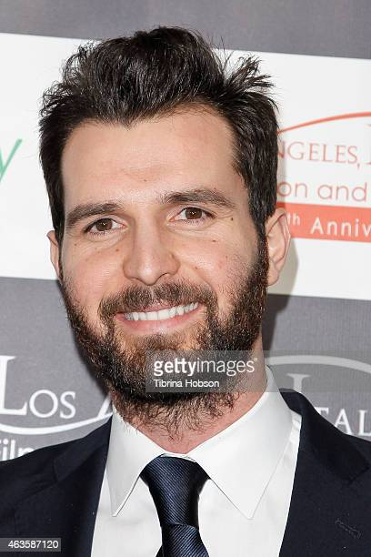 Andrea Iervolino attends the Los Angeles Italia opening gala at TCL Chinese 6 Theatres on February 15 2015 in Hollywood California