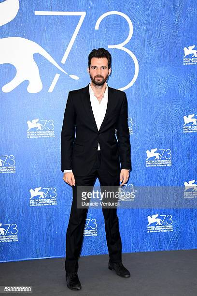 Andrea Iervolino attends the photocall of 'In Dubious Battle' during the 73rd Venice Film Festival at Sala Darsena on September 3 2016 in Venice Italy