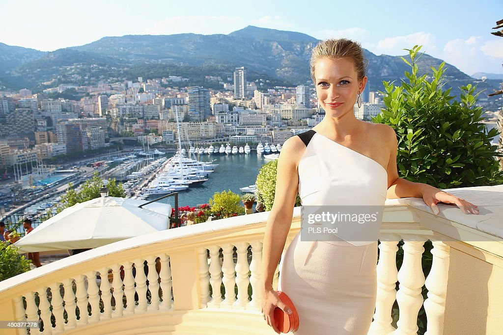 Andrea Joy Cook attends a cocktail reception at the Ministere d'Etat on June 9, 2014 in Monte-Carlo, Monaco.