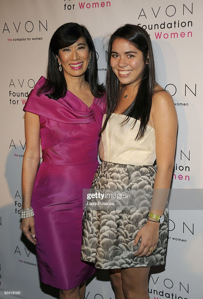 Andrea Jung of Avon and her daughter Lauren Christianson attend the Avon Foundation's 'Champions Who Change Women's Lives' celebration at Cipriani 42nd Street on October 27, 2009 in New York City.
