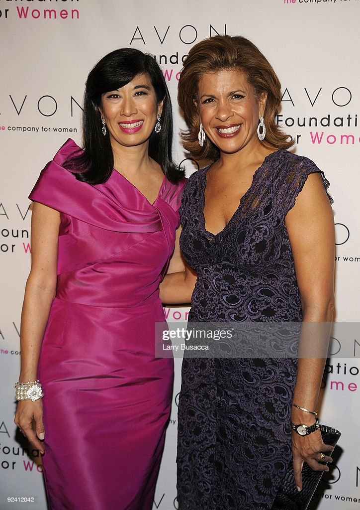 <a gi-track='captionPersonalityLinkClicked' href=/galleries/search?phrase=Andrea+Jung&family=editorial&specificpeople=2019980 ng-click='$event.stopPropagation()'>Andrea Jung</a> of Avon and Hota Kotb attend the Avon Foundation's 'Champions Who Change Women's Lives' celebration at Cipriani 42nd Street on October 27, 2009 in New York City.
