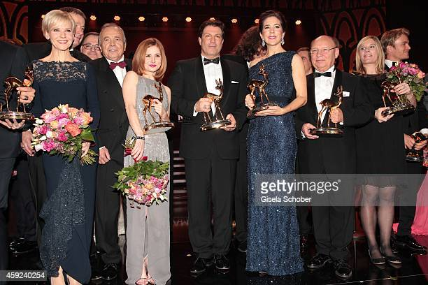 Andrea Kathrin Loewig Josefine Preuss Francis Fulton Smith Crown Princess Mary of Denmark HansJoachim Heist Nora Weisbrod during the Bambi Awards...