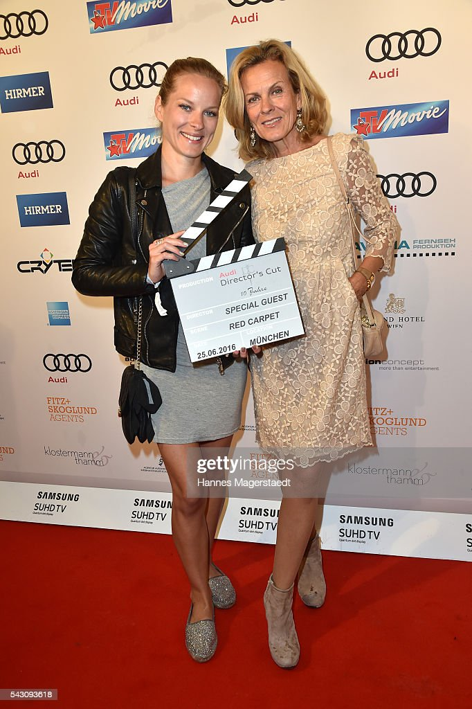 Andrea L'Arronge and her daughter Jessica during the Audi Director's Cut during the Munich Film Festival 2016 at Praterinsel on June 25, 2016 in Munich, Germany.