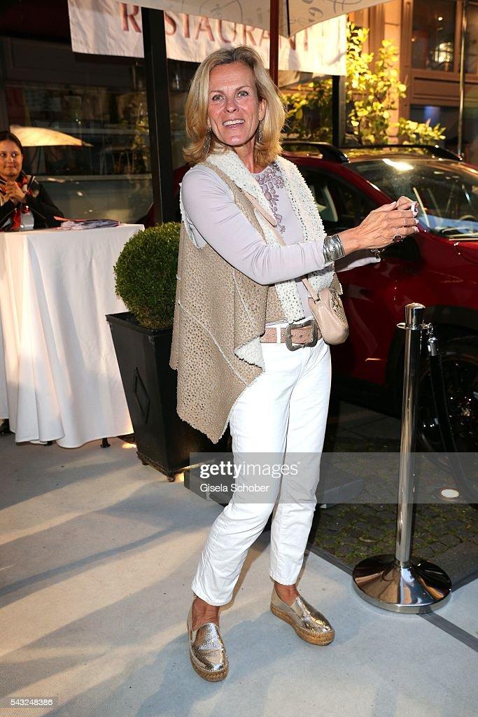 Andrea L'Arronge during the Peugeot BVC Casting Night during the Munich Film Festival 2016 at Kaeferschaenke on June 26, 2016 in Munich, Germany.
