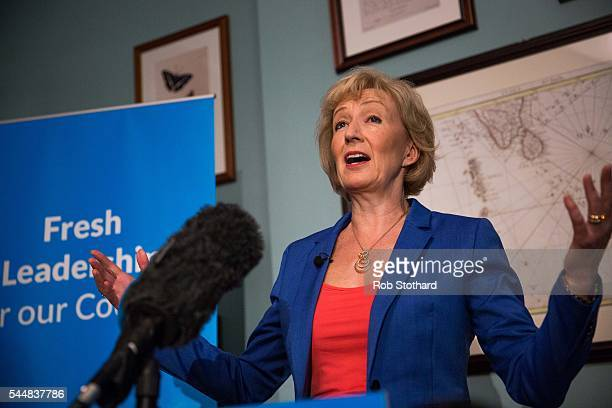 Andrea Leadsom Member of Parliament for South Northamptonshire and Minister of State at Department of Energy and Climate Change launches her bid to...