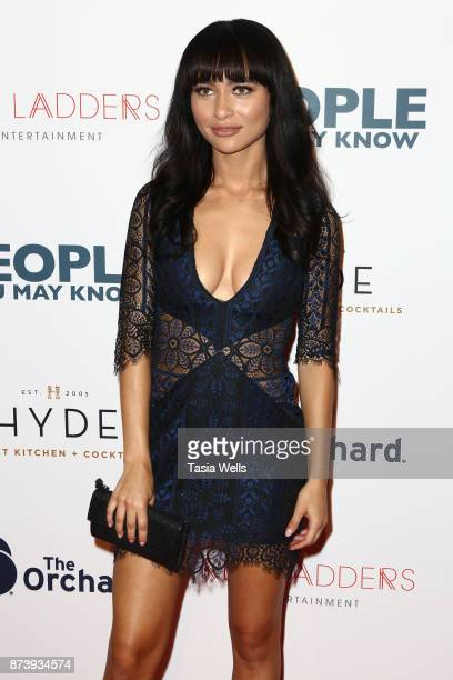 Andrea LeBlanc at the premiere of The Orchard's 'People You May Know' at The Grove on November 13 2017 in Los Angeles California