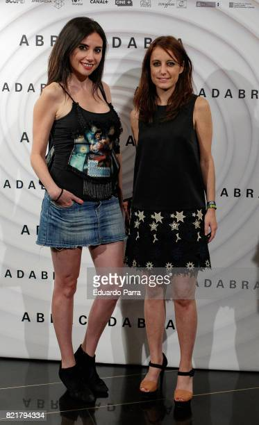Andrea Levy attends the 'Abracadabra' premiere at Palacio de la Prensa cinema on July 24 2017 in Madrid Spain