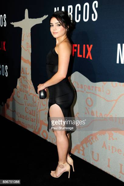 Andrea Londo attends 'Narcos' Season 3 New York Screening Arrivals at AMC Lincoln Square 13 Theater on August 21 2017 in New York City