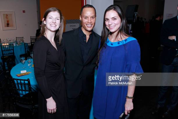 Andrea Lounibos Jason Carroll and Emily DeRosa attend SCULPTURE CENTER Gala Honoring LYNDA BENGLIS And PETER STEVENS at Metropolitan Pavilion on...