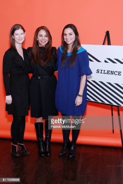 Andrea Lounibos Lisa Schiff and Emily DeRosa attend SCULPTURE CENTER Gala Honoring LYNDA BENGLIS And PETER STEVENS at Metropolitan Pavilion on...