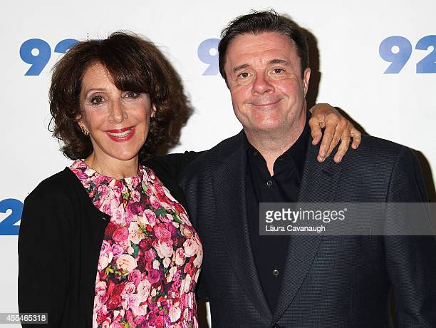 Andrea Martin and Nathan Lane attend 92nd Street Y Presents An Evening With Andrea Martin and Nathan Lane at 92nd Street Y on September 14 2014 in...