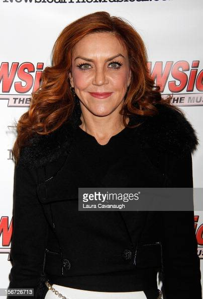 Andrea McArdle attends opening night of Andrea McArdle in 'NEWSical The Musical'at The Kirk Theater at Theatre Row on November 19 2012 in New York...