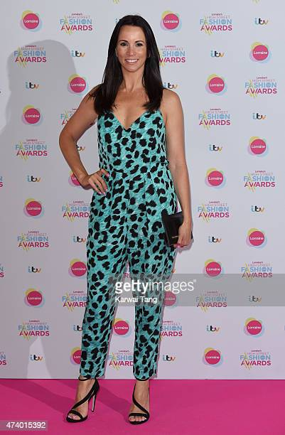 Andrea McLean attends Lorraine's High Street Fashion Awards at Grand Connaught Rooms on May 19 2015 in London England