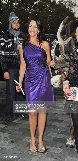 Andrea McLean attends the DVD launch of 'Christmas With The Loose Women' at The Metropolitan Hotel on November 10 2011 in London England