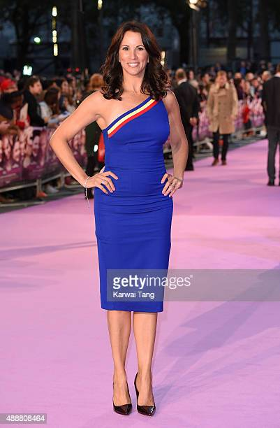Andrea McLean attends the European Premiere of 'Miss You Already' at Vue West End on September 17 2015 in London England