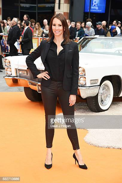Andrea Mclean attends the 'The Nice Guys' UK Premiere at Odeon Leicester Square on May 19 2016 in London England