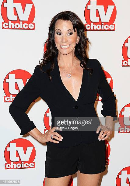 Andrea McLean attends the TV Choice Awards 2014 at London Hilton on September 8 2014 in London England