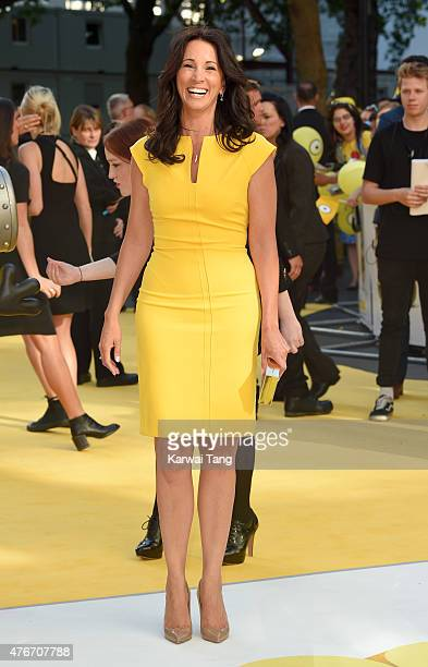 Andrea McLean attends the World Premiere of 'Minions' at Odeon Leicester Square on June 11 2015 in London England