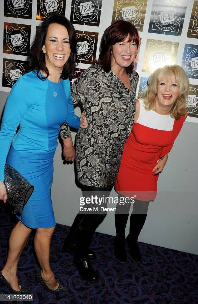 Andrea McLean Janet StreetPorter and Sherrie Hewson arrive at the TRIC Television and Radio Industries Club Awards at The Grosvenor House Hotel on...