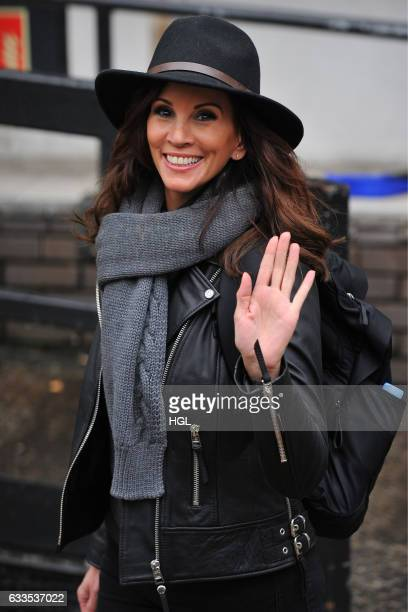 Andrea McLean seen at the ITV Studios on February 2 2017 in London England