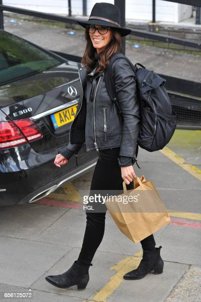 Andrea McLean seen at the ITV Studios on March 21 2017 in London England