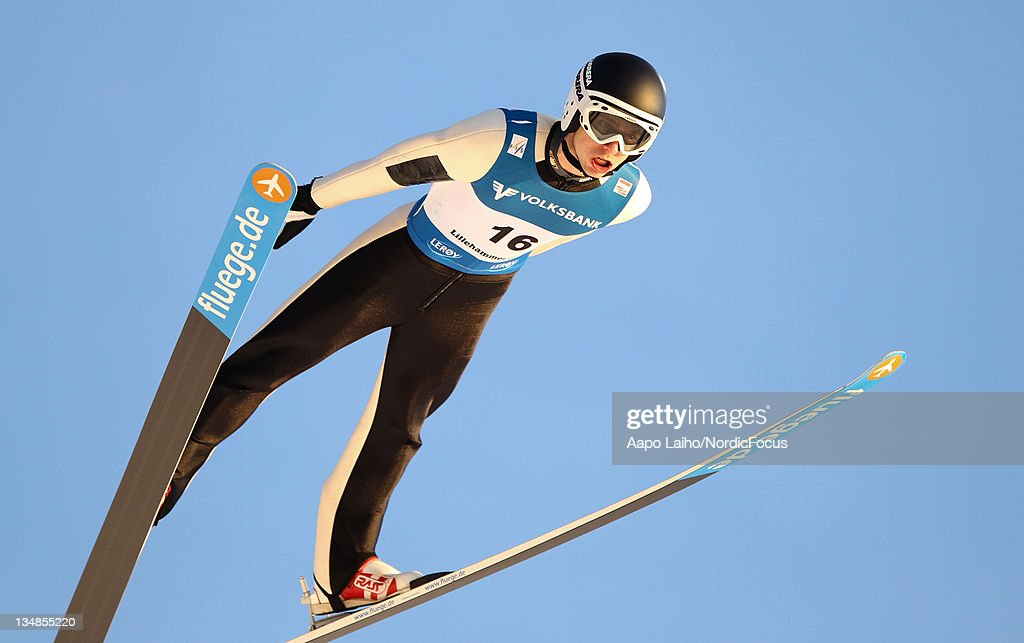 <a gi-track='captionPersonalityLinkClicked' href=/galleries/search?phrase=Andrea+Morassi&family=editorial&specificpeople=723067 ng-click='$event.stopPropagation()'>Andrea Morassi</a> of Italy competes in the Men's Ski Jumping HS138 during day two of the FIS World Cup Ski Jumping on December 4, 2011, in Lillehammer, Norway.