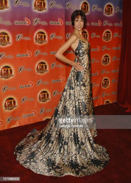 Andrea Muizelaar during 21st Annual Gemini Awards at River Rock Casino Resort in Vancouver British Columbia Canada