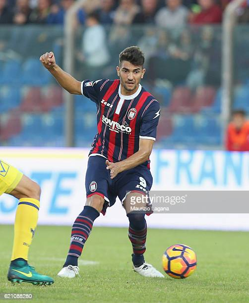Andrea Nalini of Crotone during the Serie A match between FC Crotone and AC ChievoVerona at Stadio Comunale Ezio Scida on October 30 2016 in Crotone...