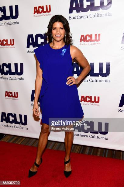Andrea Navedo attends ACLU SoCal Hosts Annual Bill of Rights Dinner at the Beverly Wilshire Four Seasons Hotel on December 3 2017 in Beverly Hills...