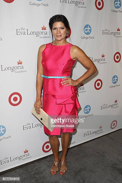 Andrea Navedo attends the 5th Annual Eva Longoria Foundation Dinner at Four Seasons Hotel Los Angeles at Beverly Hills on November 10 2016 in Los...