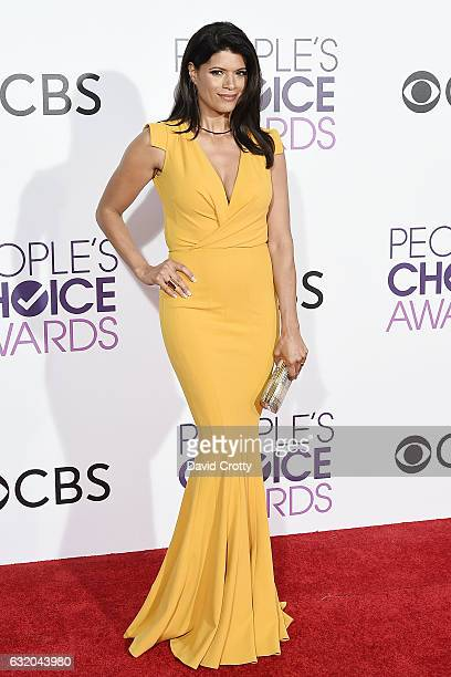 Andrea Navedo attends the People's Choice Awards 2017 Arrivals at Microsoft Theater on January 18 2017 in Los Angeles California