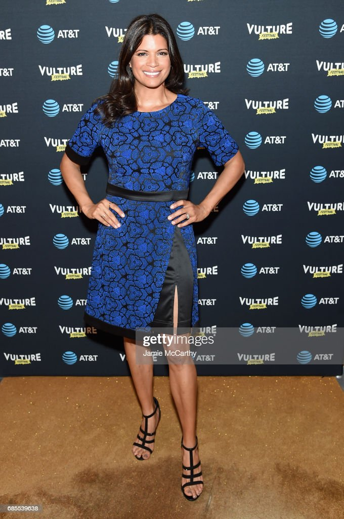 Andrea Navedo attends the Vulture Festival Opening Night Party Presented By AT&T at the Top of The Standard Hotel on May 19, 2017 in New York City.