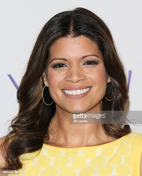 Andrea Nevado attends The Paley Center for Media's 32nd annual PALEYFEST LA 'Jane The Virgin' at Dolby Theatre on March 15 2015 in Hollywood...
