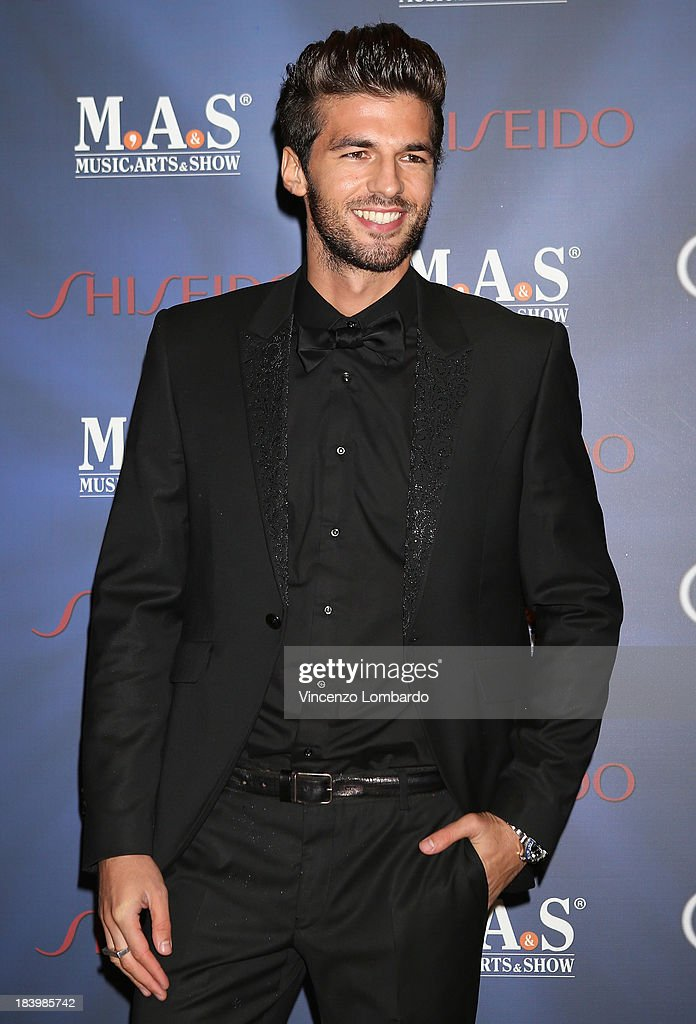 Andrea Offredi attends the opening night of 'Ghost - The Musical' at the Teatro Nazionale on October 10, 2013 in Milan, Italy.