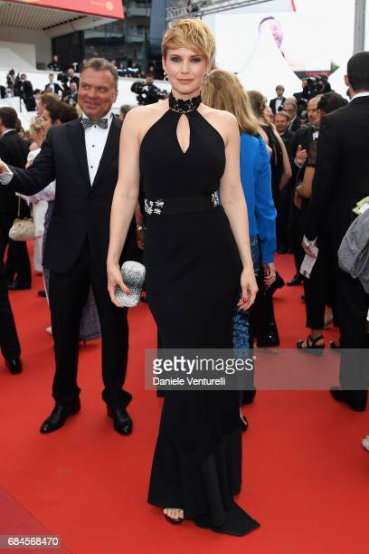 Andrea Osvart attends the 'Loveless ' screening during the 70th annual Cannes Film Festival at Palais des Festivals on May 18 2017 in Cannes France