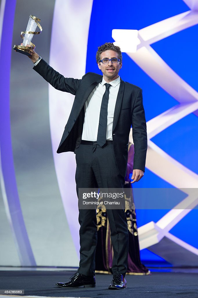 Andrea Pallaoro awarded directing prize during the Award Ceremony of the 13th Marrakech International Film Festival on December 7, 2013 in Marrakech, Morocco.